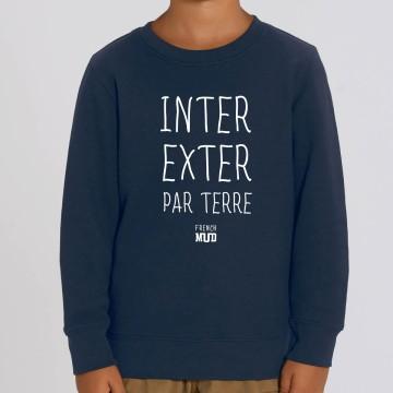 """Sweat """"Inter Exter Par Terre"""" enfant"""