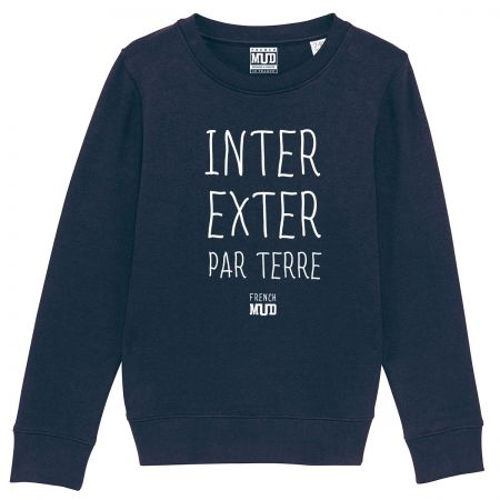 "Sweat ""Inter Exter Par Terre"" enfant"