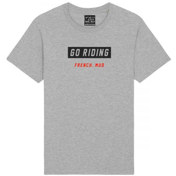 "Tshirt ""Go Riding"" homme"