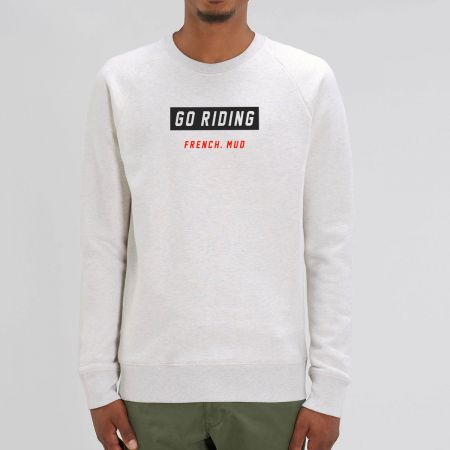 """Sweat """"Go Riding"""" Homme"""