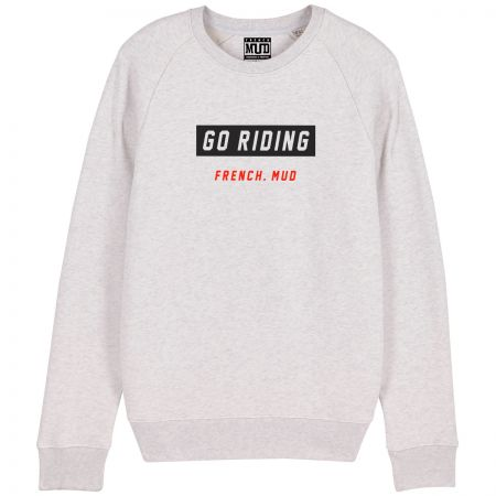 "Sweat ""Go Riding"" Homme"
