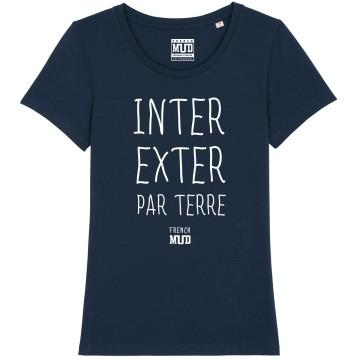 "Tshirt ""Inter Exter Par Terre"" Femme"