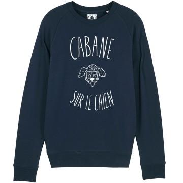 """SWEAT """"CABANE SUR LE CHIEN"""" Femme BIO"""