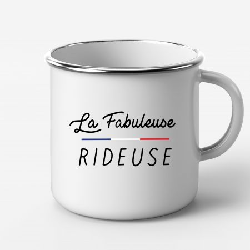 "Mug Metal ""La Fabuleuse Rideuse"""