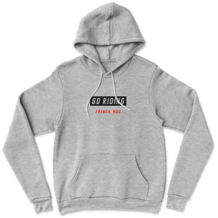 "Hoodie ""Go Riding"" homme"