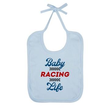 "Bavoir Bio ""Baby Racing Life"""