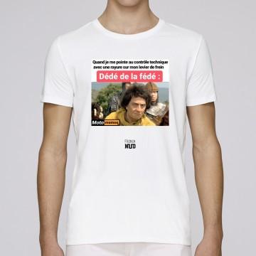 "Tshirt ""Dede de la fede"" X Moto Memes"
