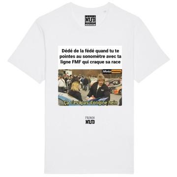"Tshirt ""Pas d'origine"" X Moto Memes"