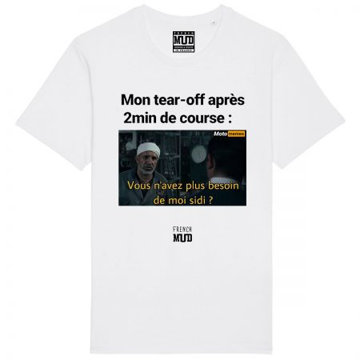 """Tshirt """"Tear Off Sidi"""" X Moto Memes"""