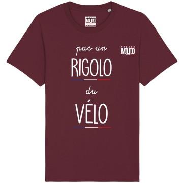 """Tshirt """"Pas un rigolo du velo"""""""