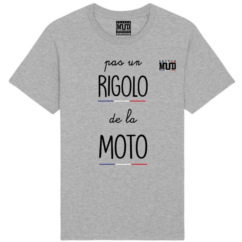 """Tshirt """"Pas un rigolo de la moto"""""""