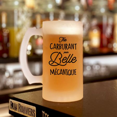 "Chope ""Carburant pour Belle Mecanique"""