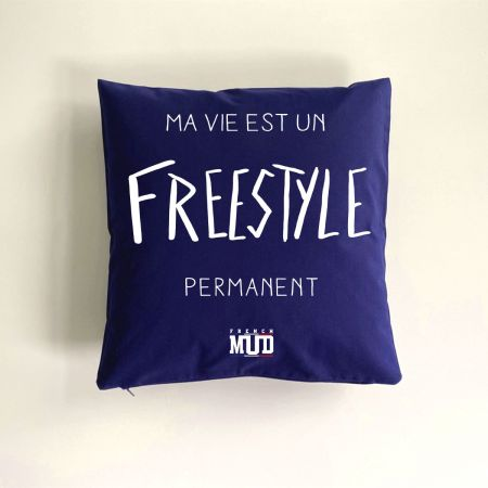 "Coussin ""Freestyle permanent"""