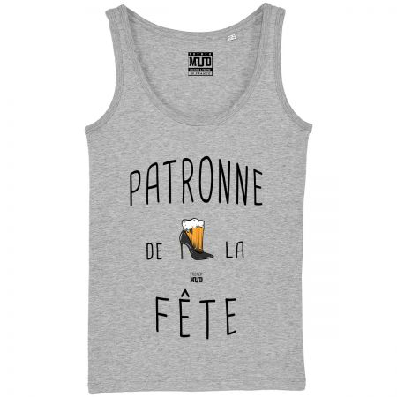 "Debardeur Femme ""Patronne de la Fête"""