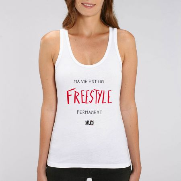 "Debardeur Femme ""Freestyle permanent"""