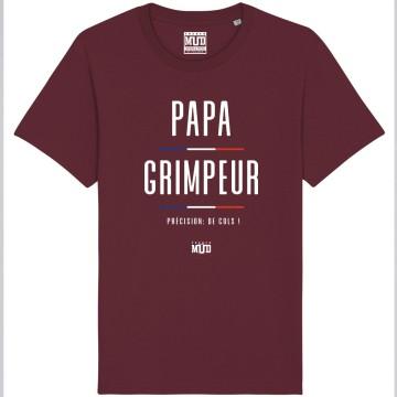 """TSHIRT """"PAPA GRIMPEUR"""" Homme"""