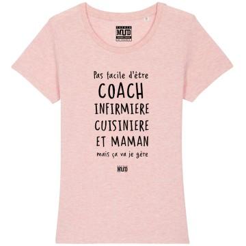 Tshirt COACH INFIRMIERE MAMAN