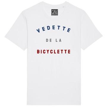 """TSHIRT """"VEDETTE DE LA BICYCLETTE"""" Homme"""