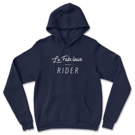 """HOODIE """"LE FABULEUX RIDER"""" Homme"""