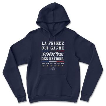 "HOODIE ""LA FRANCE QUI GAGNE MXDN"" Homme"