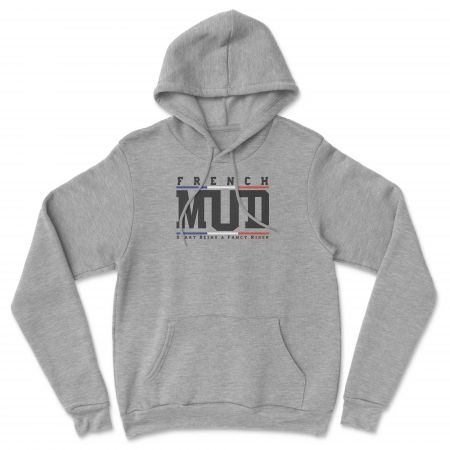 """HOODIE """"FRENCH MUD OFFICIEL"""" Homme"""