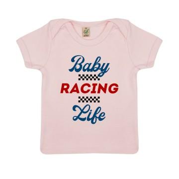 """TSHIRT """"BABY RACING LIFE"""" Bebe BIO"""