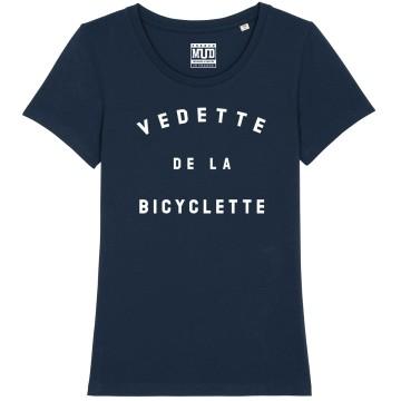 """TSHIRT """"VEDETTE DE LA BICYCLETTE"""" Femme"""
