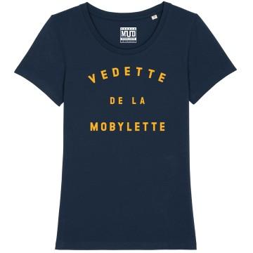 """TSHIRT """"VEDETTE DE LA MOBYLETTE"""" Femme"""