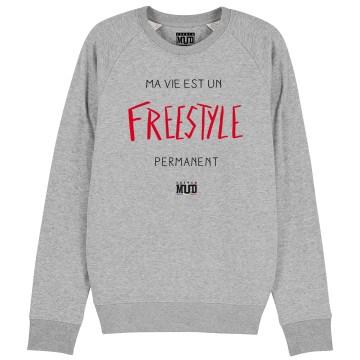 "SWEAT ""FREESTYLE PERMANENT"" Femme"