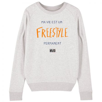 "Sweat Femme ""Freestyle permanent"""