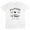 Tshirt Pilotage à la Française