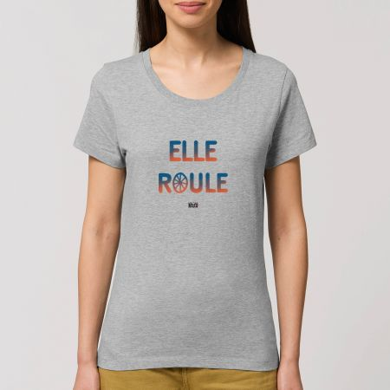 "TSHIRT ""ELLE ROULE"" Femme"