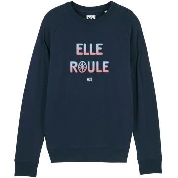 """SWEAT """"ELLE ROULE"""" Femme"""