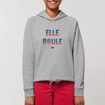"""HOODIE """"ELLE ROULE"""" Femme"""