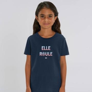 "TSHIRT ""ELLE ROULE"" Enfant"