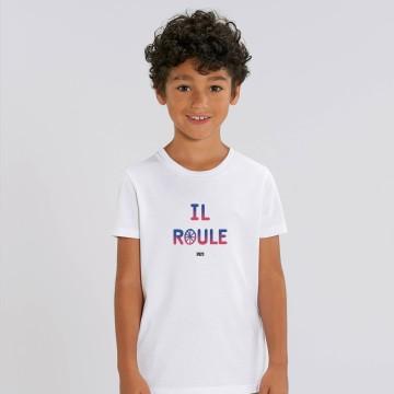 """TSHIRT """"IL ROULE"""" Enfant"""