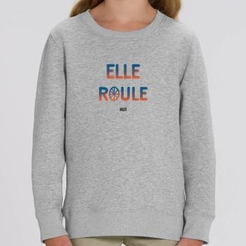 """SWEAT """"ELLE ROULE"""" Enfant"""