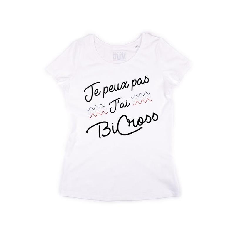 Tshirt Je peux pas j'ai Bicross