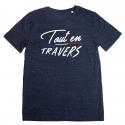 Tshirt Tout en Travers