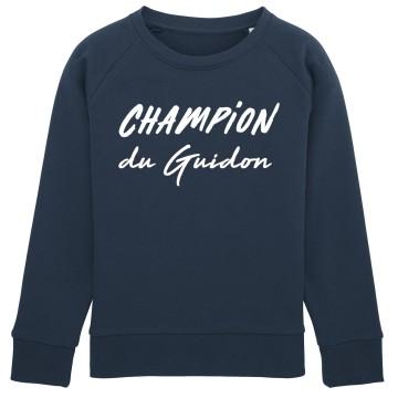 Sweat Enfant Champion du Guidon