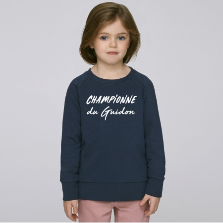 Sweat Enfant Championne du Guidon