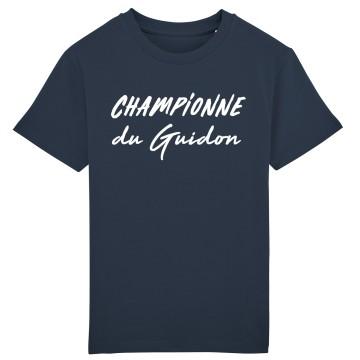 Tshirt Enfant Championne du Guidon