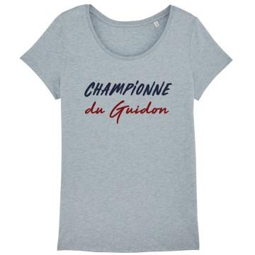 Tshirt Femme Championne du Guidon