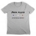 Tshirt Papa Pilote