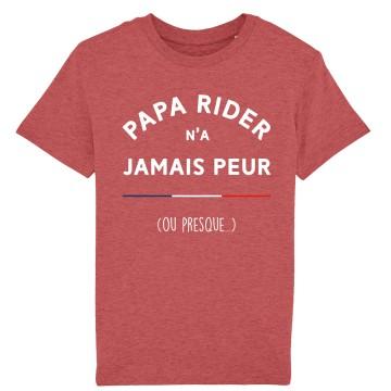Tshirt Enfant Papa Rider