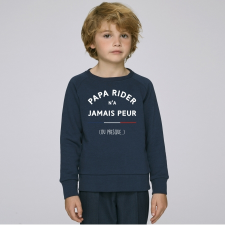 Sweat Enfant Papa Rider