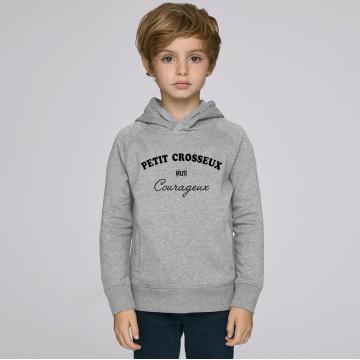 Hoddie Enfant Petit Crosseux Courageux