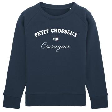 Sweat Enfant Petit Crosseux Courageux