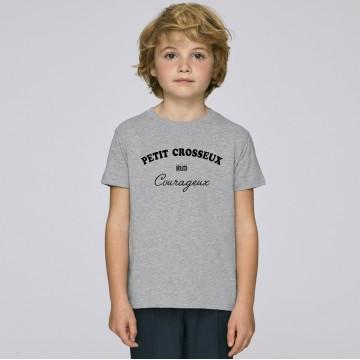 Tshirt Enfant Petit Crosseux Courageux