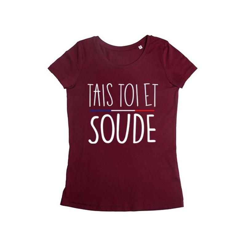 Tshirt Tais toi et Soude